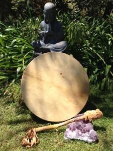 drum garden